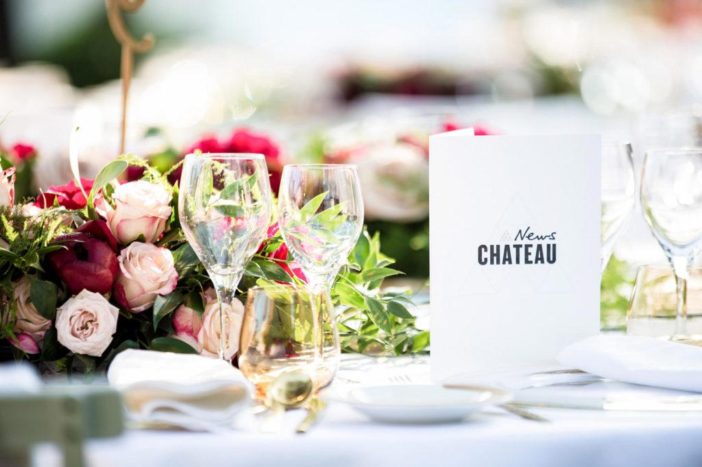 News Chateau table setting
