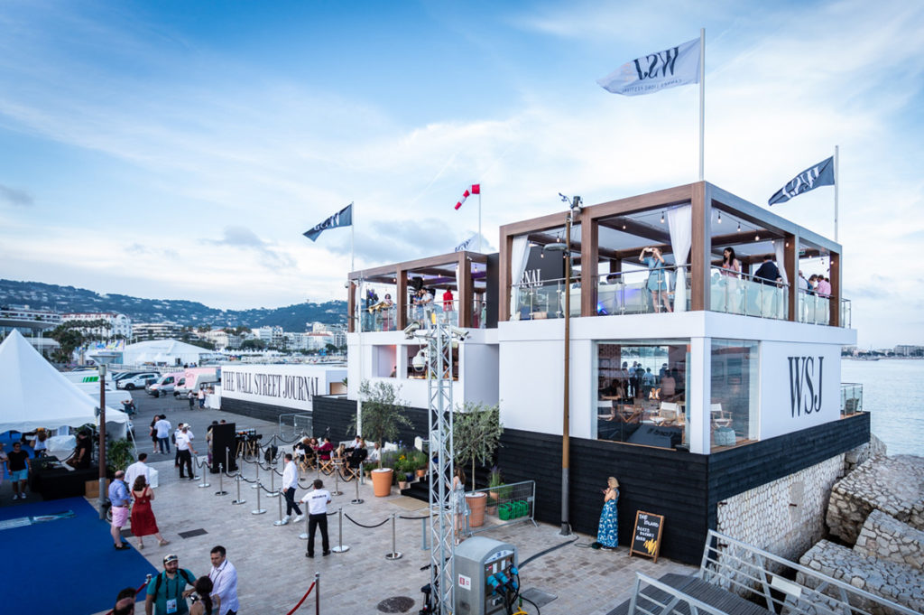 experiential venue Journal House during Cannes Lions 2019